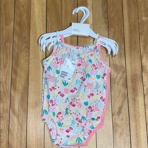 H&M 4-6M Baby Girl 3 Pack of Onsies NWT
